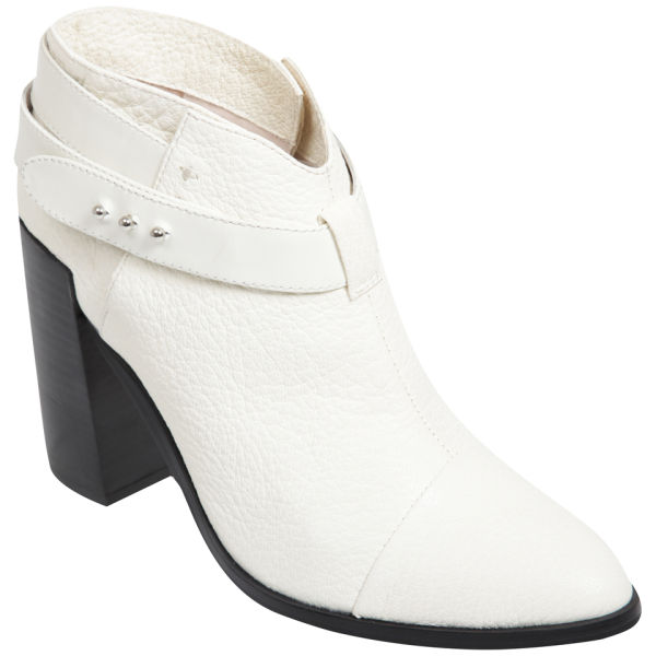 Senso Womens Lisa I Heeled Ankle Boots in White | Lyst