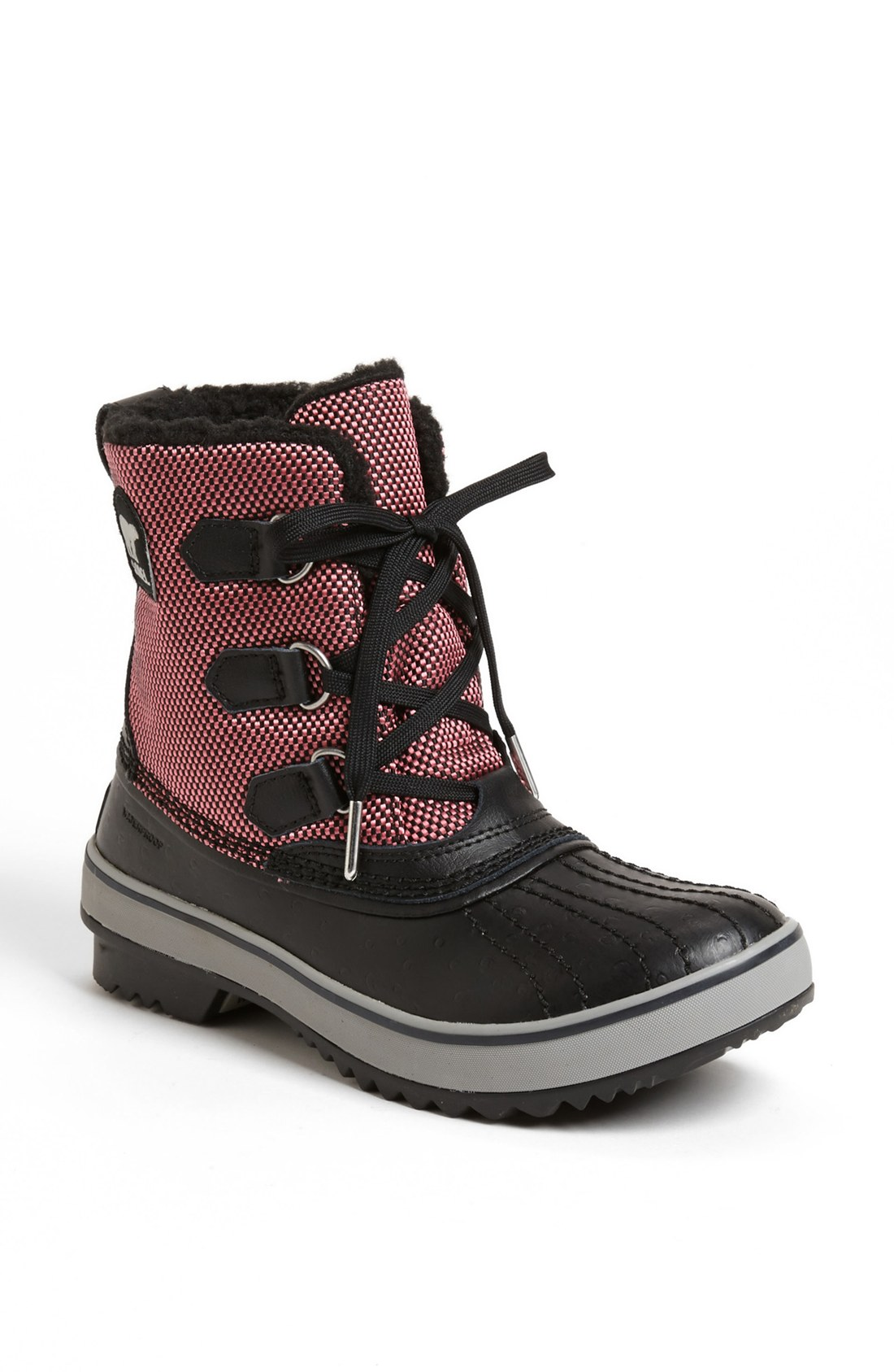 sorel tivoli waterproof boot in brown black lyst