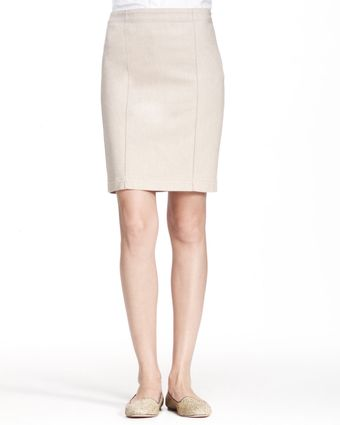 The Row Heavyweight Stretch Denim Skirt - Lyst
