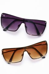 Victoria's Secret Shield Sunglasses - Lyst
