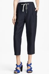 3.1 Phillip Lim Pleated Polka Dot Pants - Lyst