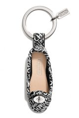 Coach Ballet Flat Key Ring - Lyst