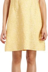 Dolce & Gabbana Floral Brocade Dress - Lyst