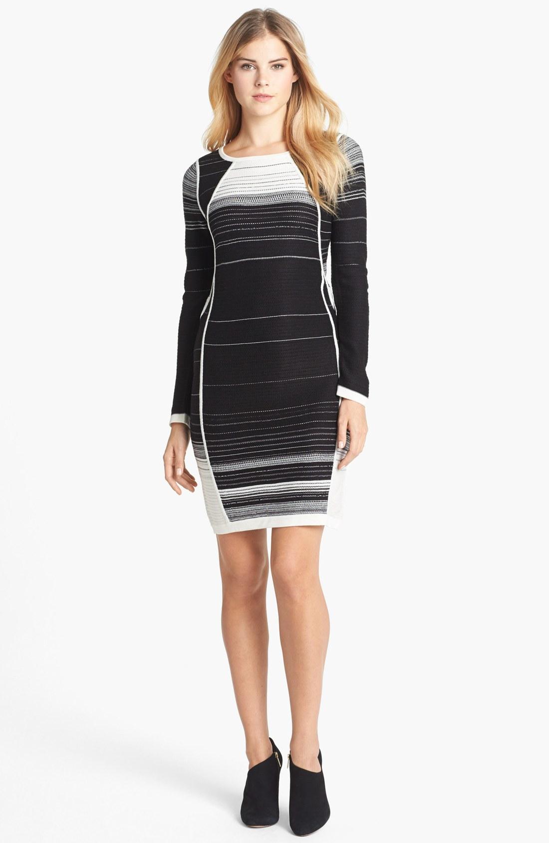 Ivanka Trump Stripe Sw... Ivanka Trump Dresses