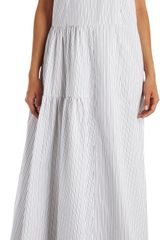 Marni Pinstriped Sleeveless Maxi Dress - Lyst