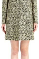 Marni Tweed Button Front Coat - Lyst