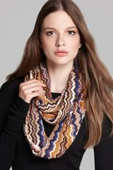 Missoni Lightweight Wool Loop Scarf - Lyst