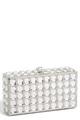 Natasha Couture Box Clutch - Lyst