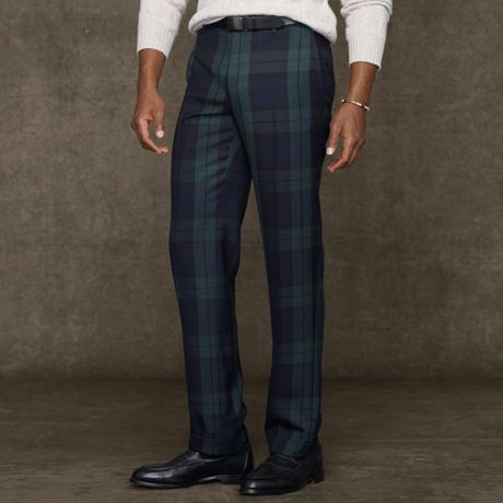 Picked up these blackwatch plaid pants any advice on wearing them ...