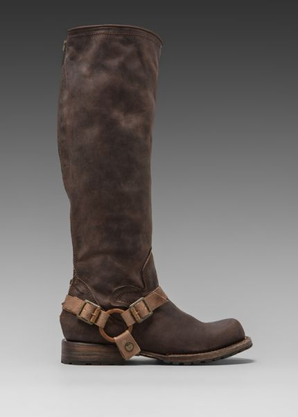 Steven By Steve Madden Freebird By Haavn Boot in Brown in Brown - Lyst