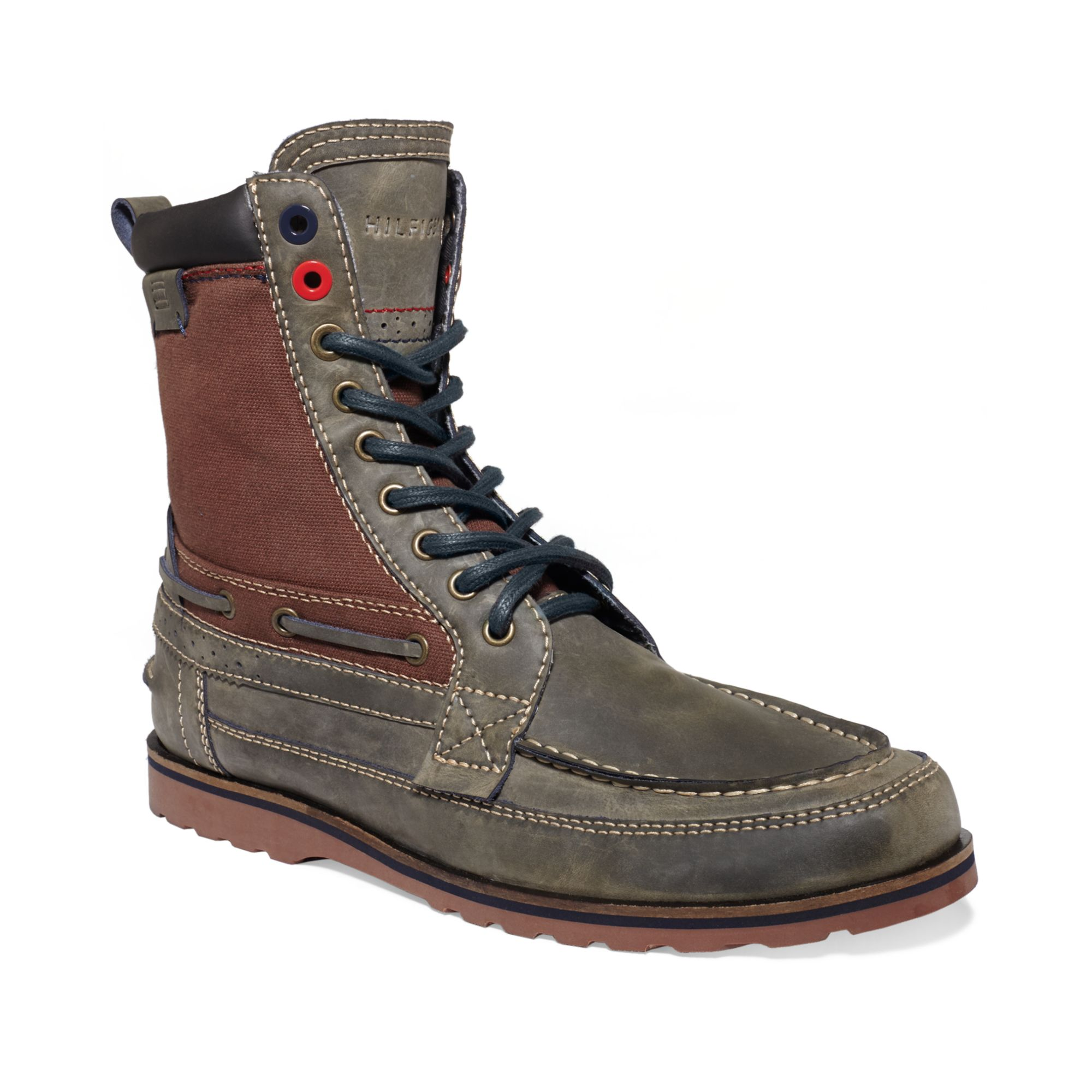 5c3339e668412 Lyst - Tommy Hilfiger Hawk Boots in Gray for Men