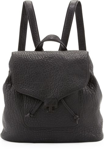 Tory Burch Parkan Leather Backpack Black - Lyst