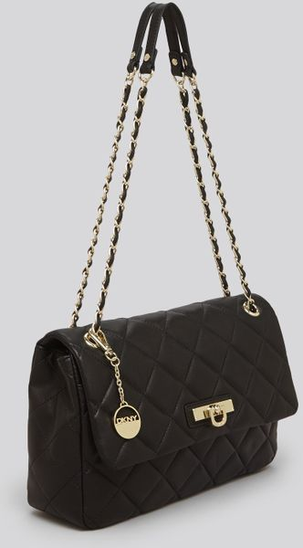 Dkny Quilted Nappa Flap Shoulder Bag 86