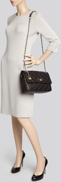 Dkny Quilted Nappa Flap Shoulder Bag 37