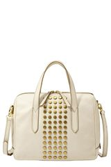 Fossil Sydney Leather Satchel - Lyst
