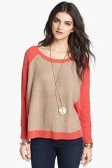 Free People Tabbard Pullover Sweater - Lyst
