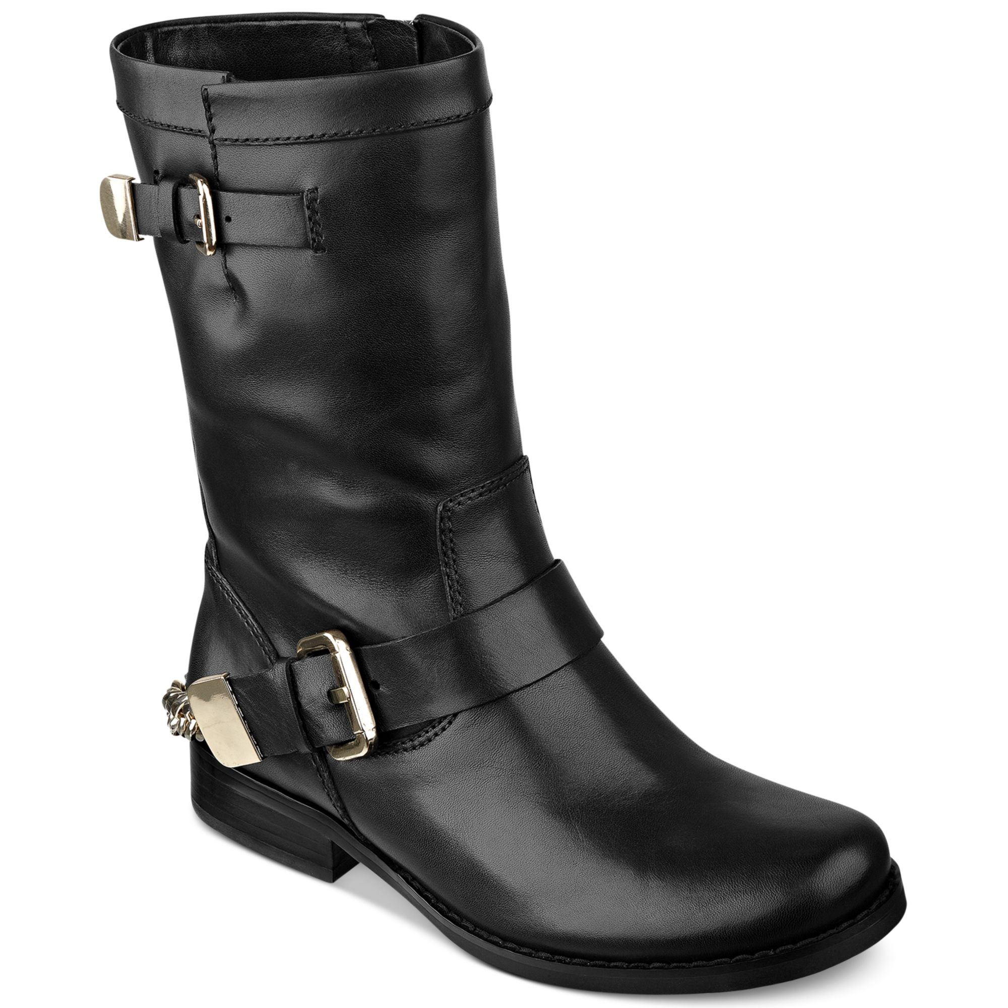 guess womens boots girton booties in black lyst