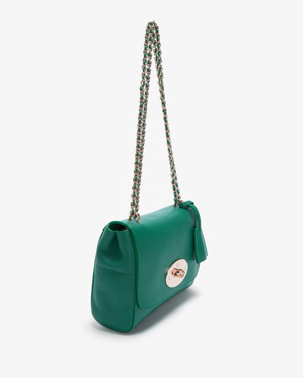 6dc1f84924 Lyst - Mulberry Lily Shoulder Bag in Green