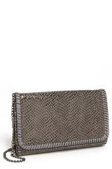 Tarnish Snake Chain Crossbody Clutch - Lyst