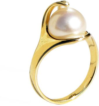 Arosha Luigi Taglia Ra Ring in 14k Gold and Freshwater Pearl - Lyst