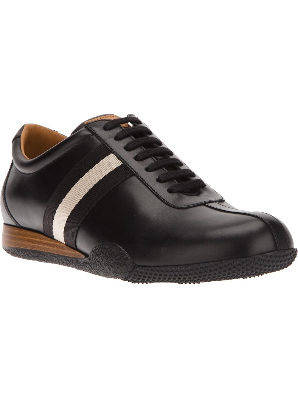 bally freenew shoe in black for lyst
