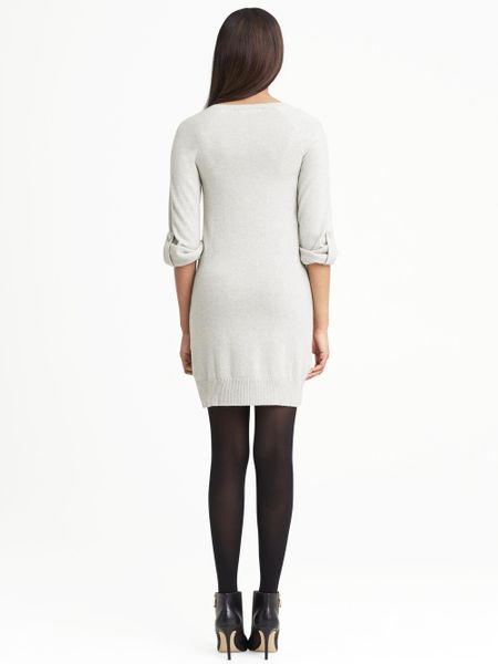 White Cashmere Sweater Dress Cashmere Sweater Dress