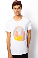 Cheap Monday Liquid Skull Tshirt - Lyst