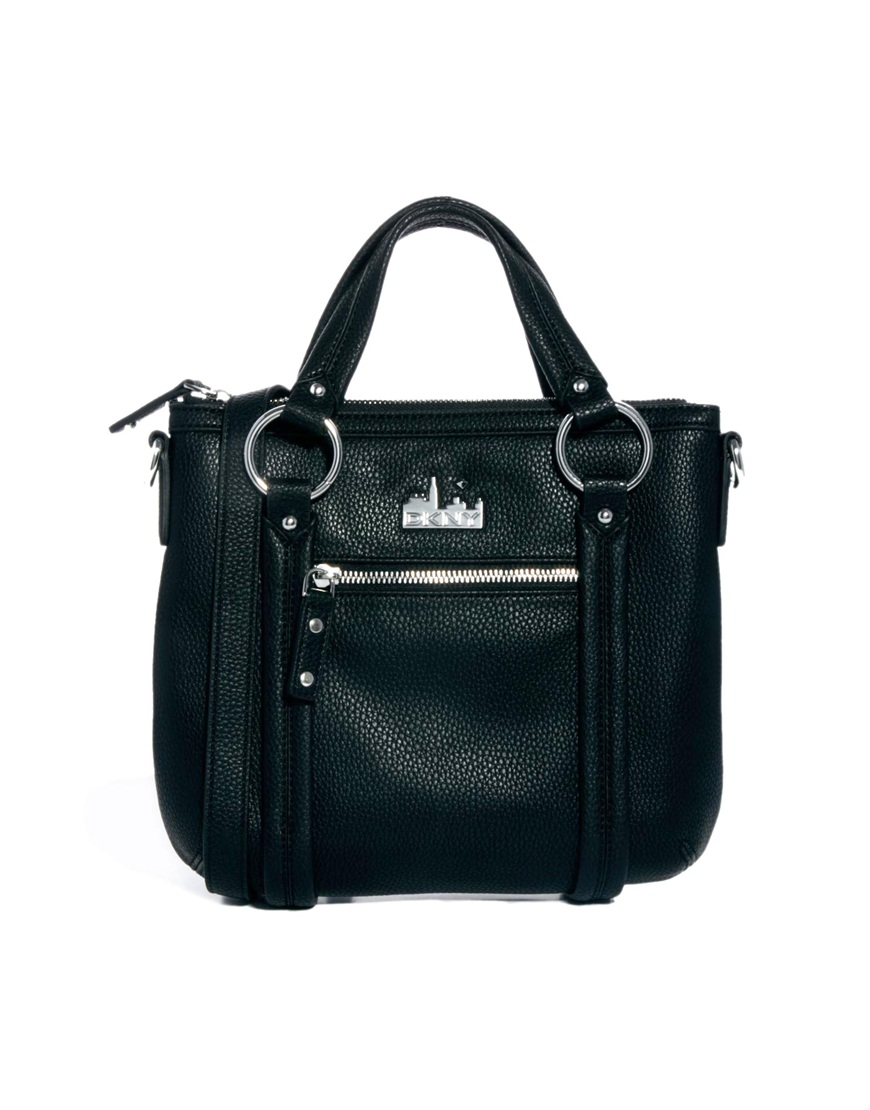 dkny active pebble crossbody bag in black 001black lyst
