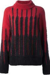 Etro Funnel Neck Sweater - Lyst