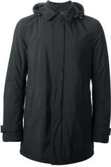 Herno Hooded Jacket - Lyst