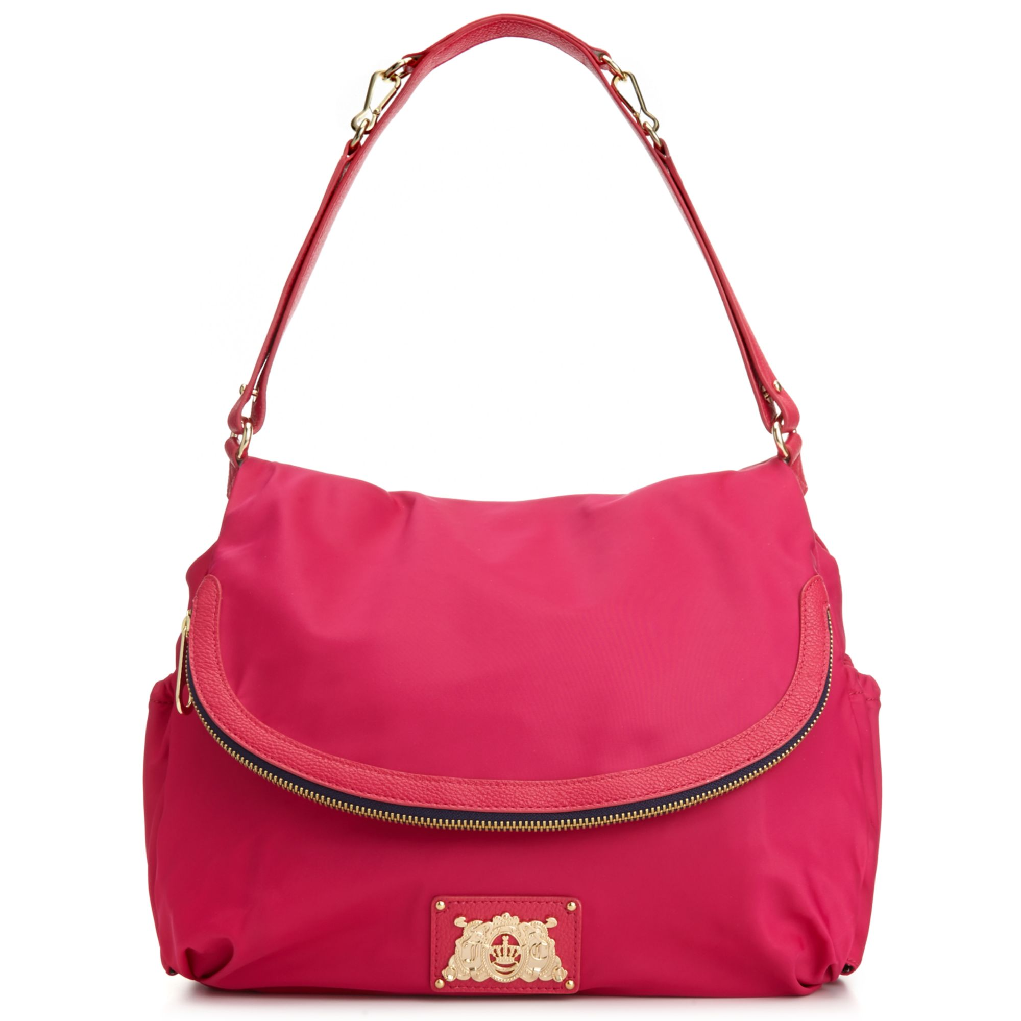 Lyst - Juicy Couture Malibu Nylon Crossbody Baby Bag in Pink 31c19c5b64