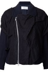 Julien David Lace Jacket - Lyst