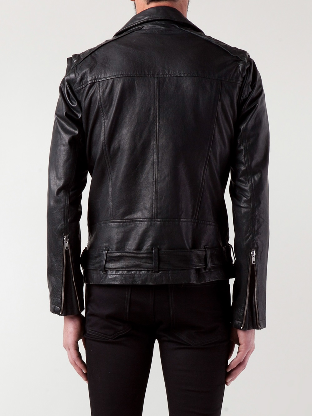 Lyst Lamarque Leather Jacket In Black For Men