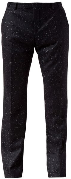Mugler Speckled Trouser - Lyst