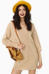 Nasty Gal Mojave Sands Sweater - Lyst