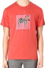 Paul Smith Zebra Tshirt - Lyst