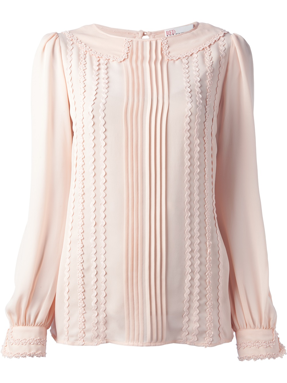 Silk top Red Valentino Get To Buy Online Clearance Genuine Fast Express Discount Footaction VeEh39