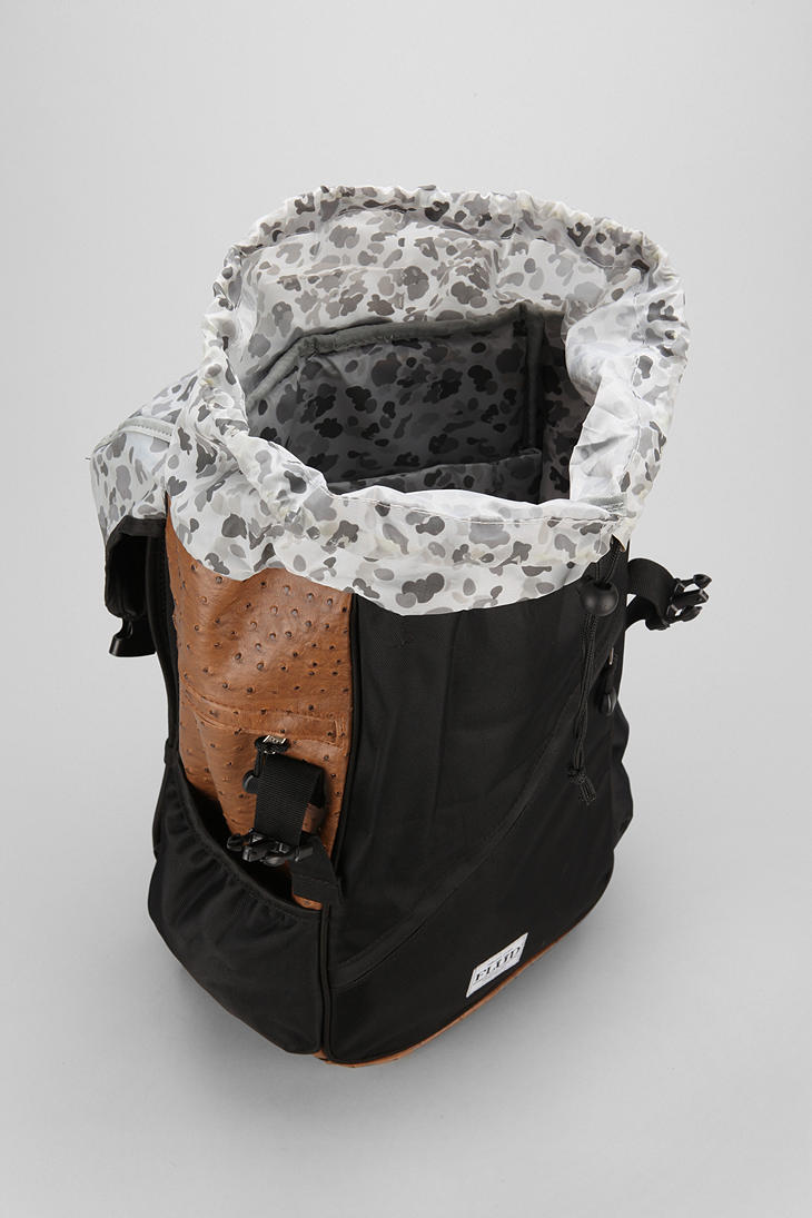 3ce6e9f9a9f5 Lyst - Urban Outfitters Flud Ostrich Tech Backpack in Black
