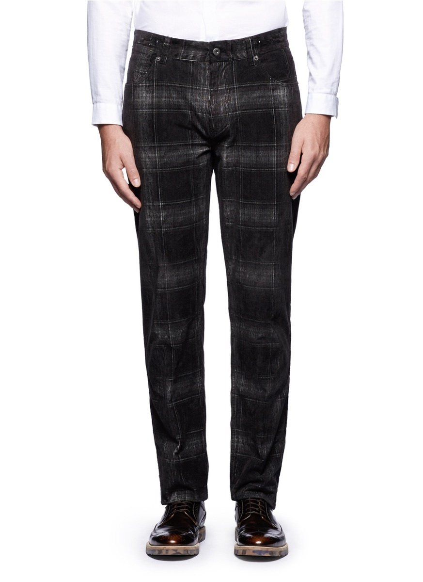Women's Plaid Pants. Clothing. Women. Women's Plaid Pants. Showing 48 of results that match your query. Search Product Result. Product - NY COLLECTION Womens Black Ivory Plaid Straight leg Pants Size: 8. Product Image. Price $ Product Title. NY COLLECTION Womens Black Ivory Plaid Straight leg Pants Size: 8. Add To Cart.
