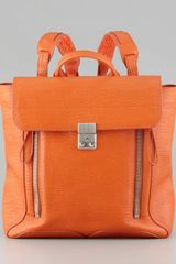 3.1 Phillip Lim Pashli Zip Backpack Orange - Lyst