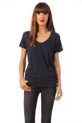 American Vintage Short Sleeve Top  - Lyst