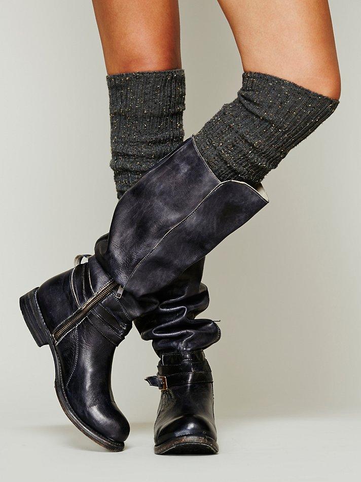 bed stu bonnor tall boot in black | lyst