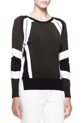 Belstaff Banham Racing Stripe Sweater - Lyst