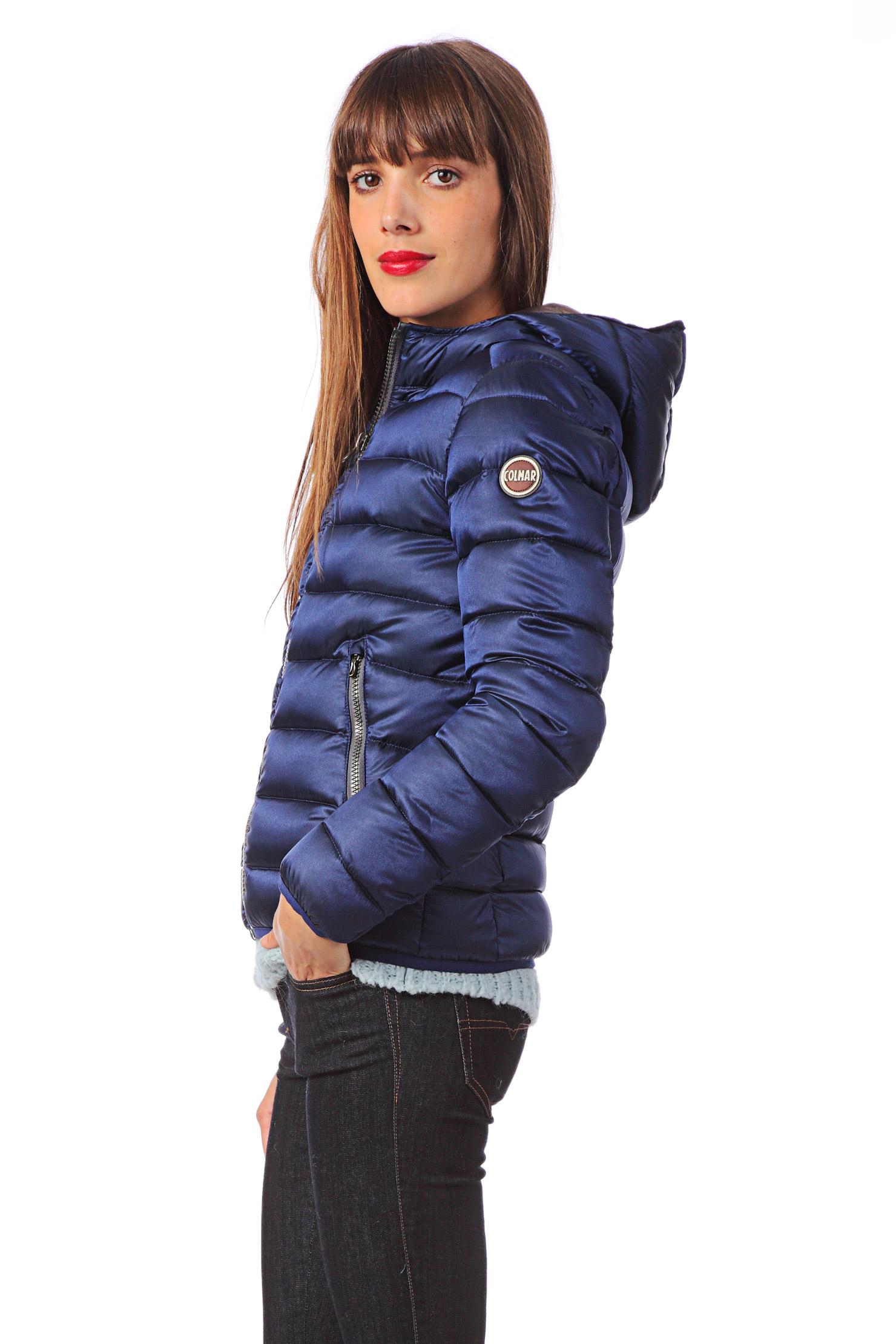 colmar originals quilted jacket in blue lyst. Black Bedroom Furniture Sets. Home Design Ideas