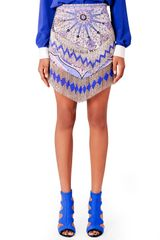Emilio Pucci Beaded Fringe Mini skirt - Lyst