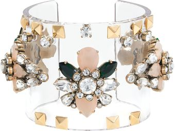 J.Crew Jeweled Cuff - Lyst