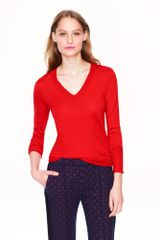 J.Crew Merino V-Neck Sweater - Lyst