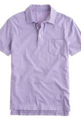 J.Crew Brokenin Pocket Polo - Lyst