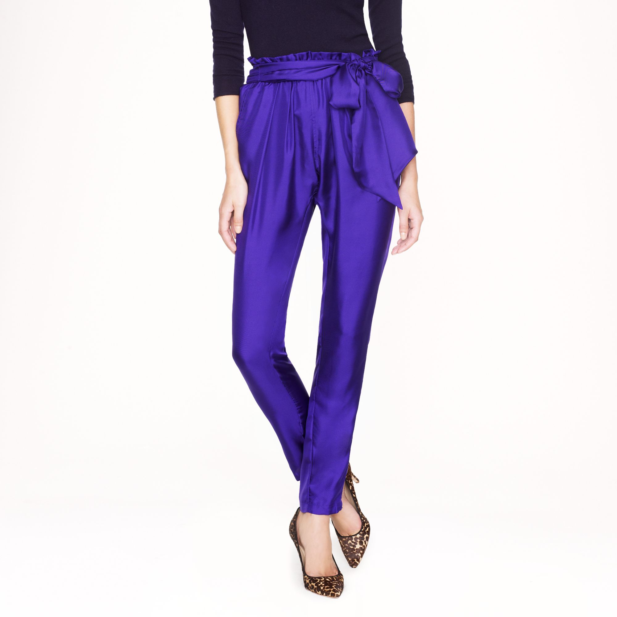 J.Crew Piamita™ Sienna Pant | Fancy Friday - Fancy Pants Holiday Pieces