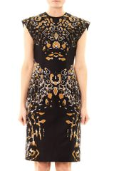Josh Goot Leopard Vector Raglan Dress - Lyst